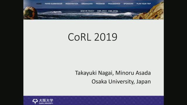 CoRL 2019 | ETH Zürich Videoportal